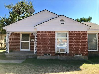 Dallas County Single Family Home For Sale: 5022 Thrush Street