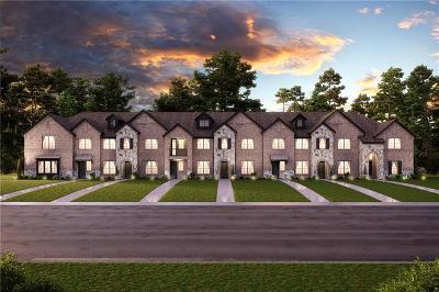 Lewisville Townhouse For Sale: 2742 Vista Park Lane
