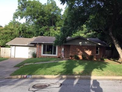 Arlington Single Family Home For Sale: 213 Pennie Court