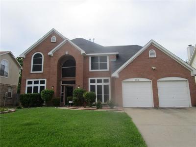 Grand Prairie Single Family Home For Sale: 121 Starbridge Lane
