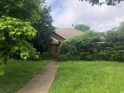 Cedar Hill Single Family Home For Sale: 316 Stringer Drive