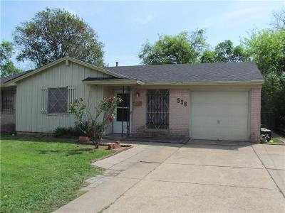 Duncanville Single Family Home For Sale: 538 Trail Ridge Drive