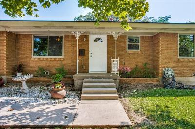 Euless Single Family Home Active Option Contract: 613 Clebud Drive