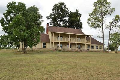 Terrell Single Family Home For Sale: 32150 Fm 429