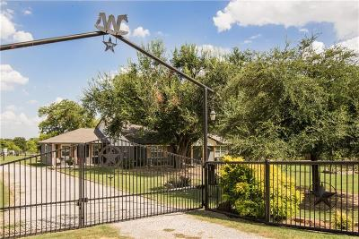 Dallas County, Denton County, Collin County, Cooke County, Grayson County, Jack County, Johnson County, Palo Pinto County, Parker County, Tarrant County, Wise County Single Family Home For Sale: 13780 Liberty School Road