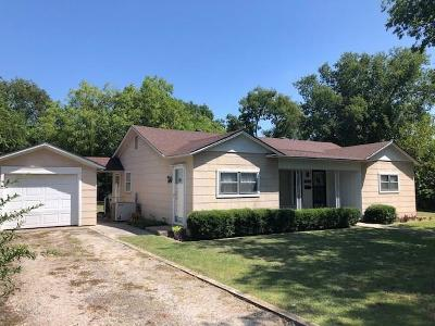 Archer County, Baylor County, Clay County, Jack County, Throckmorton County, Wichita County, Wise County Single Family Home For Sale: 305 E Ash Street
