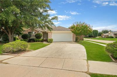 Flower Mound Single Family Home Active Contingent: 800 Teakwood Court