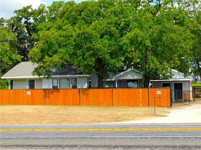 Weatherford Single Family Home For Sale: 2301 N Fm 51