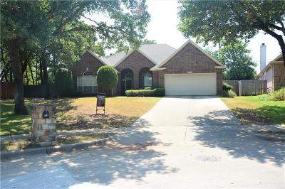 Grapevine Single Family Home Active Option Contract: 5317 Shadow Glen Drive
