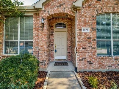 Frisco Single Family Home For Sale: 7072 Chinquapin Drive