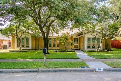 Richardson Single Family Home For Sale: 235 Canyon Valley Drive