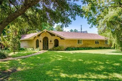 Richardson Single Family Home Active Contingent: 2409 Skyview Drive