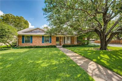 Richardson Single Family Home Active Contingent: 1235 Cheyenne Drive