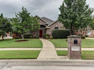 Keller Single Family Home For Sale: 1418 The Lakes Court