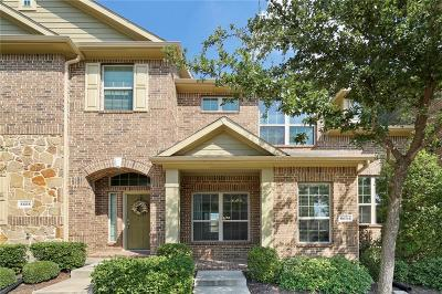 Dallas County, Denton County Townhouse Active Option Contract: 8604 Iron Horse Drive