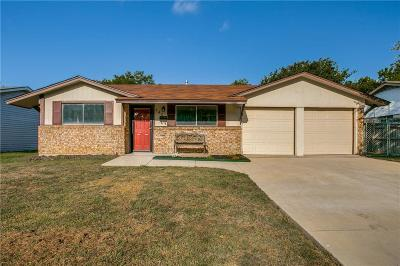Grapevine Single Family Home Active Option Contract: 840 Lovers Lane