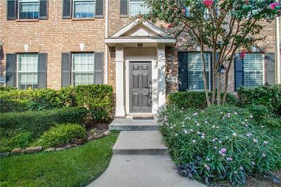 Mckinney Townhouse For Sale: 4845 Stone Gate Trail