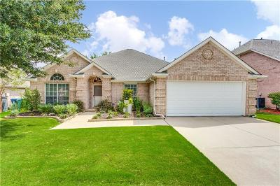 Flower Mound Single Family Home Active Option Contract: 1605 Crabapple Lane