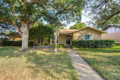 Farmers Branch Single Family Home For Sale: 3737 Blue Trace Lane