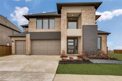 Allen Single Family Home For Sale: 886 Newcastle Drive