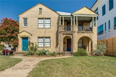Dallas County Multi Family Home For Sale: 1856 Euclid Avenue
