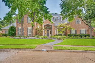 Plano Single Family Home Active Option Contract: 5316 Mariners Drive