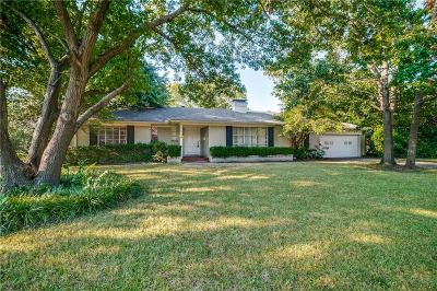 Dallas County Single Family Home For Sale: 5830 Northmoor Drive