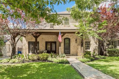 Dallas County Single Family Home For Sale: 4723 W Amherst