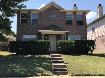 Cedar Hill Single Family Home Active Option Contract: 1209 Shakleford Circle