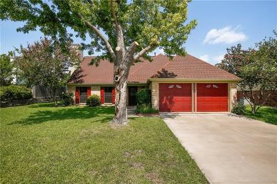 Flower Mound Single Family Home Active Option Contract: 5005 Timber Creek Road
