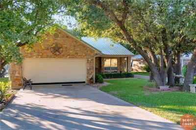 May, Lake Brownwood, Brownwood Single Family Home For Sale: 7307 Feather Bay Boulevard