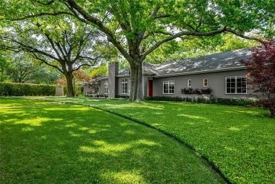 Dallas County Single Family Home For Sale: 4447 Brookview Drive