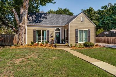 McKinney Single Family Home For Sale: 402 W Josephine Street