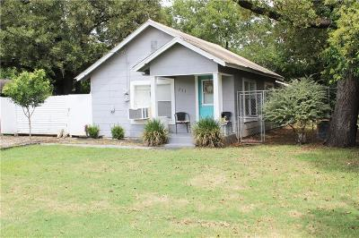 Stephenville Single Family Home For Sale: 751 N Race Street