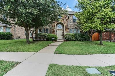 Frisco Single Family Home Active Option Contract: 11930 Gonzales Drive