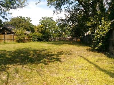 Dallas County Residential Lots & Land For Sale: 6922 Webster Street