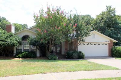 Flower Mound Single Family Home Active Option Contract: 4812 Briarcreek Drive