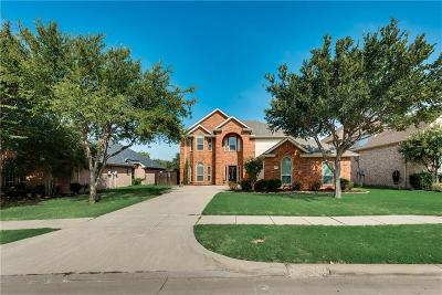 Frisco Single Family Home Active Contingent: 4875 Golfside Drive