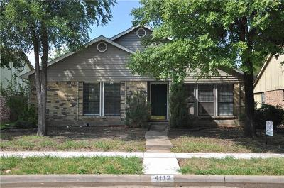 The Colony Single Family Home For Sale: 4112 Driscoll Drive