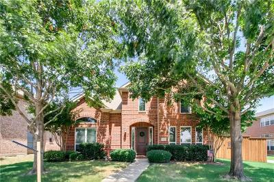 Frisco Single Family Home Active Contingent: 2866 Ridge View Road