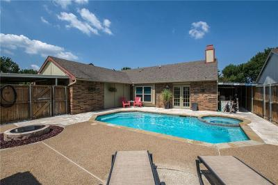 The Colony Single Family Home Active Option Contract: 6849 Younger Drive