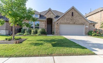 Melissa Single Family Home For Sale: 2318 Houston Drive