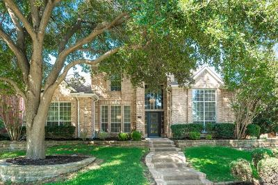 Plano Single Family Home Active Option Contract: 4224 Rockingham Way