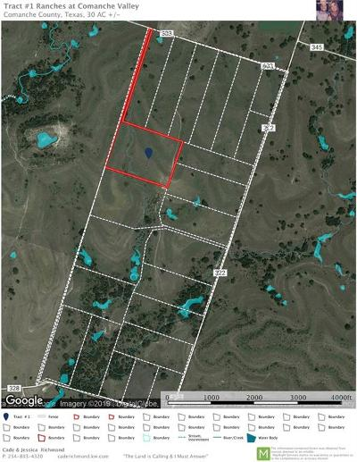 Dublin Residential Lots & Land For Sale: Tract1 County Rd 343