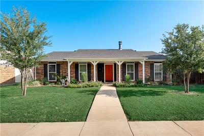 The Colony Single Family Home Active Option Contract: 4762 Wagner Drive