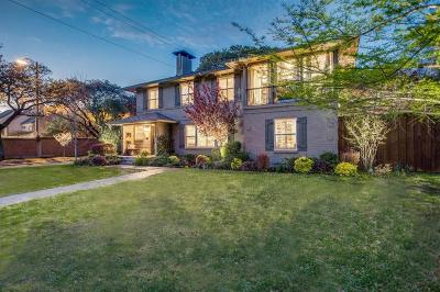 Highland Park Single Family Home Active Contingent: 4554 Westway Avenue