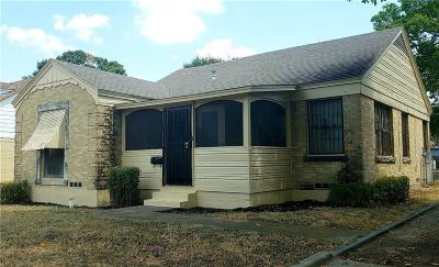Dallas Single Family Home For Sale: 1418 S Marsalis Avenue