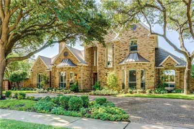 Plano Single Family Home Active Contingent: 5842 Sky Park Drive