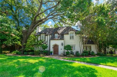 Single Family Home For Sale: 6906 Lakewood Boulevard