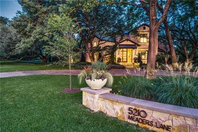 Dallas County Single Family Home Active Option Contract: 5210 Meaders Lane